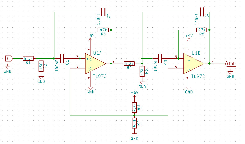 Op Amp Based Cw Audio Filter Kit Another Electronics Blog